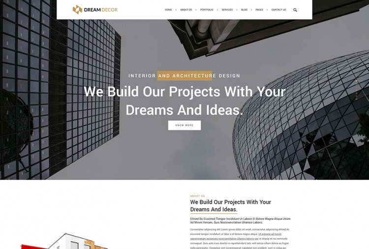 Home Decor HTML Website Template