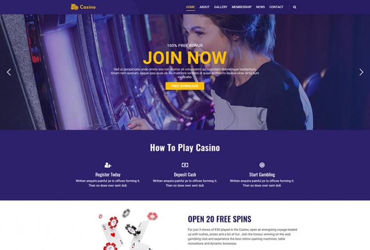 Casino And Gambling WordPress Theme
