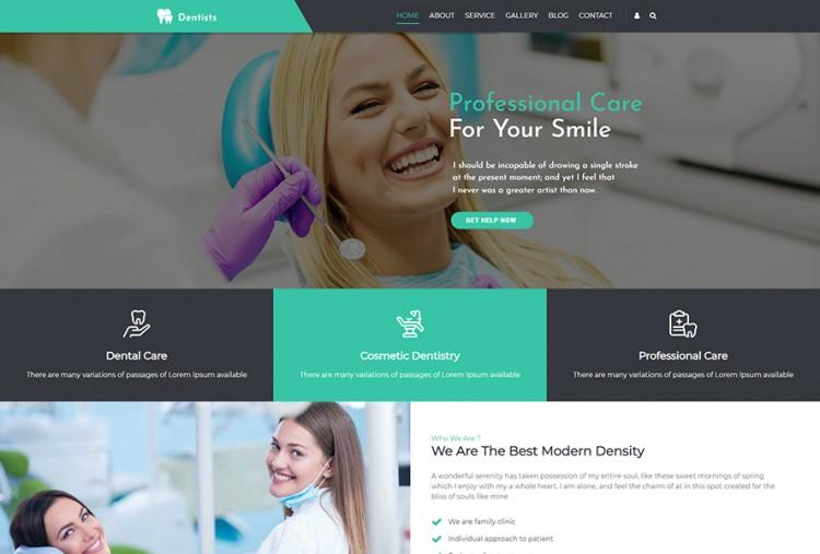 Dentist WordPress Theme | Dental Clinic WP Themes