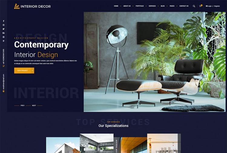 Interior Decor HTML Template