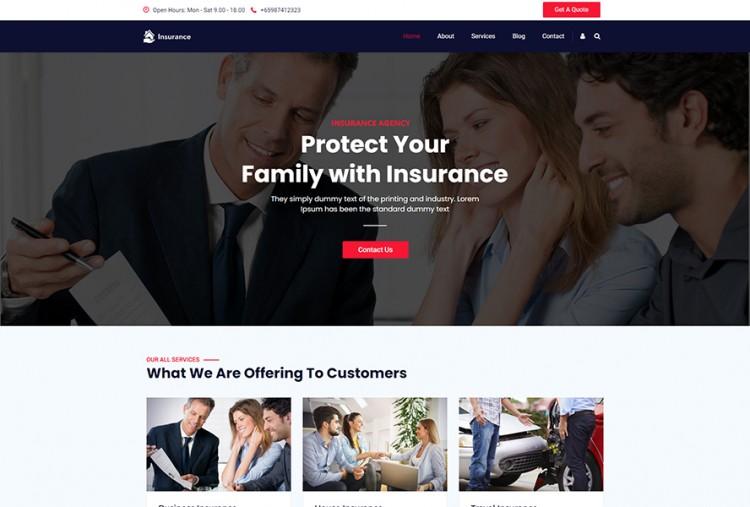 Best Insurance WordPress Theme
