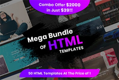 Top 50 Multipurpose HTML Templates