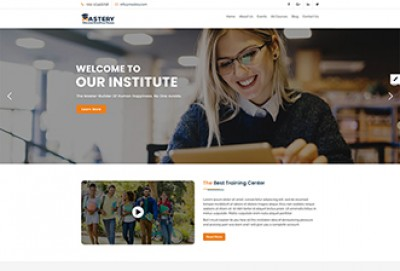 LMS -eLearning WordPress Theme