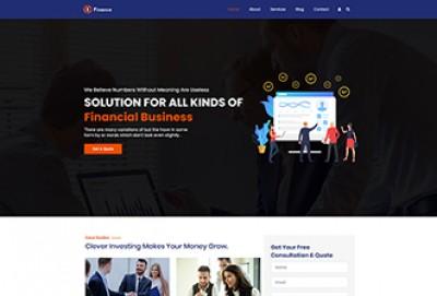 Finance And Banking WordPress Theme