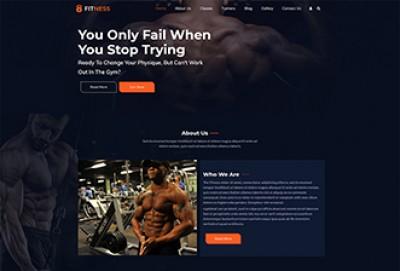 Gym And Fitness WordPress Theme