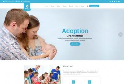 Charity & NGO WordPress Theme