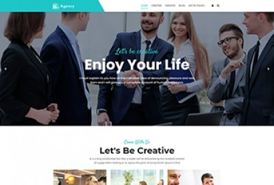Multi Concept Agency WordPress Theme