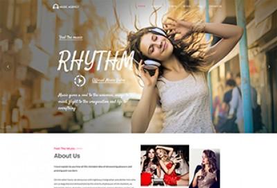 DJ & Music Studio WordPress Theme