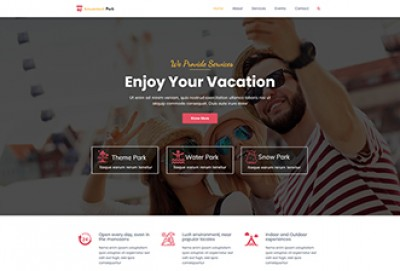 Amusement Park WordPress Theme