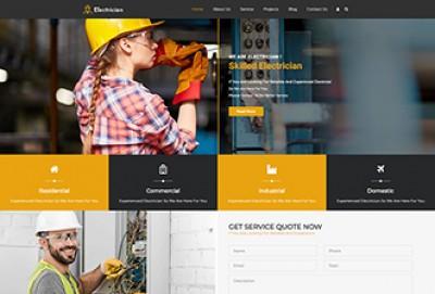 Electrician & Repairing WordPress Theme