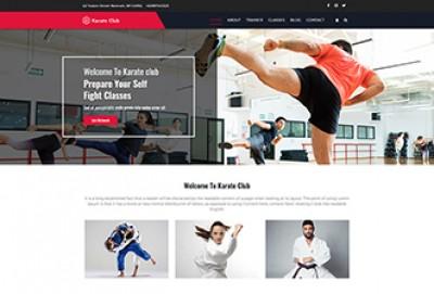 Karate Club WordPress Theme
