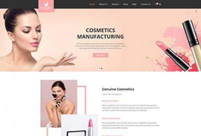Cosmetics Shop WordPress Theme