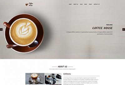 Cafeteria HTML Website Template