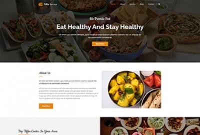 Tiffin Service WordPress Theme