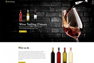 Wine Tasting WordPress Theme