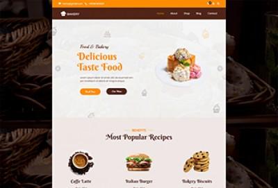 Cake Bakery Shop Wordpress Theme