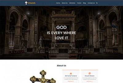 Church HTML Website Template