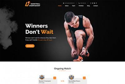 Basketball HTML Website Template