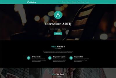 Artist HTML Website Template