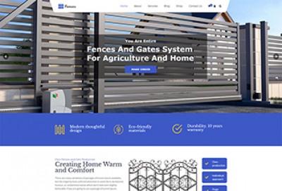 Fences And Gates WordPress Theme