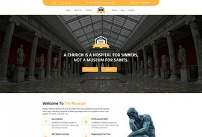 Museum HTML Website Template