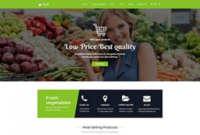 Vegetable Shop Wordpress Theme