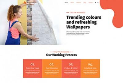 Wallpapering WordPress Theme