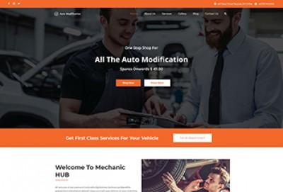 Car & Auto Repair WordPress Theme