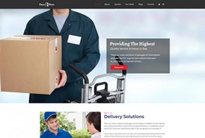 Door To Door Courier Delivery WordPress Theme