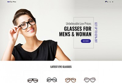 Eyeglasses WordPress Theme