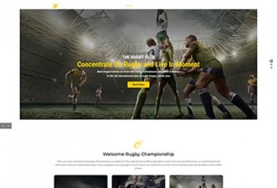 Rugby Club WordPress Theme