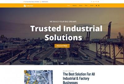 Best Industrial WordPress Theme
