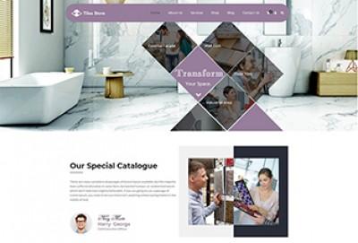 Tiles Store WordPress Theme