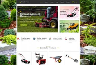 Garden Tools Store Wordpress Theme