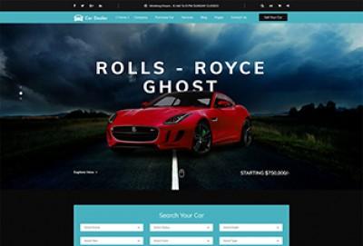 Car Dealer HTML Website Template