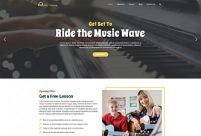 Music Tutoring WordPress Theme