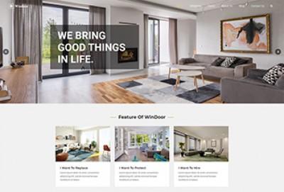 Windows & Doors WordPress Theme