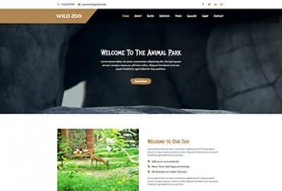Wildlife Html Website Template
