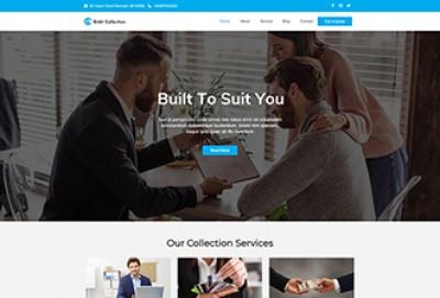 Debt Collection WordPress Theme