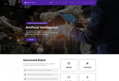 Artificial Intelligence WordPress Theme