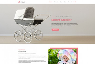 Stroller WordPress Theme