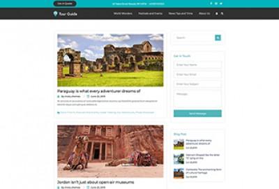 Tour Guide WordPress Theme