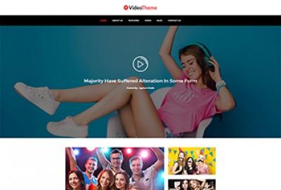 Video Gallery HTML Website Template