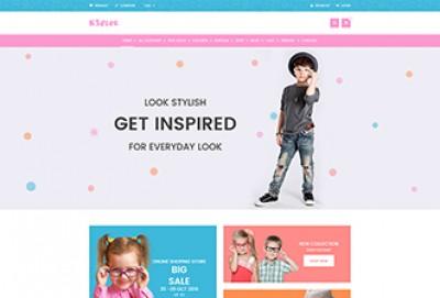 Baby Shop and Kids store WordPress Theme