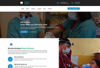 Modern Dentistry HTML Website Template