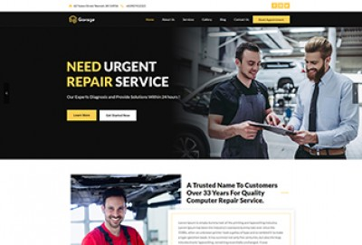 Mobile Garage WordPress Theme