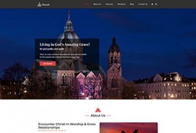 Church & Religion WordPress Theme
