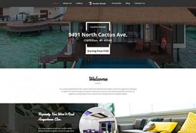 Vacation Rentals WordPress Theme