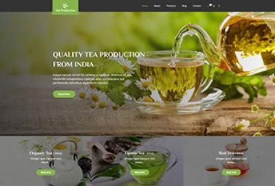 Tea Production WordPress Theme | Tea Shop and Store Themes