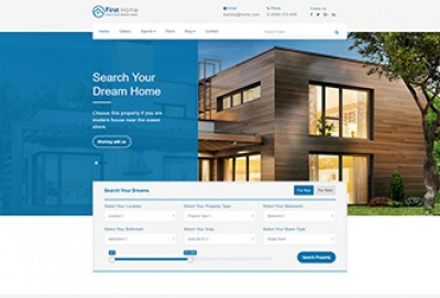 Real Estate Multi page HTML Website Template